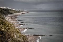 Beachwalk 3 (Stu G2006) Tags: canon eos 500d eastbourne pier groynes beach cliffs holywell
