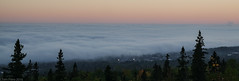 Lake Superior fog  9-30-16 (photo synth) Tags: foggy fog rollingin lakesuperior eveningfog fogblanket