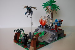 Halo Moc (my name is schimmi) Tags: lego halo moc unsc covenant combat conflict grunt shade drone jungle palm energy barrier ultra major elite shangeili unggoy