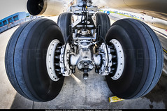 """ORY.2015 # CRL - A332 """"landing gear"""" awp (CHRISTELER / AeroWorldpictures Team) Tags: landing gear configuration corsair international airbus a330243 cn 320 reg fhbil engines 2x rr trent 772b60 history aircraft 21mar2000 first flight 31mar2000 delivered ss crl config cabin c18y332 2012 reconfigured c26y278 left wheels planespotting paris orly ory lfpo france plane aircrafts apron stand closeup nikon d300s nikkor fisheyes lenses lightroom"""