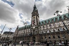 Hamburg - City Hall (superbart77) Tags: architecture city clouds hamburg rathaus rathausmarkt townhall cityhall