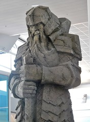 Lord of Middle Earth (mikecogh) Tags: auckland airport statue lordoftherings publicart