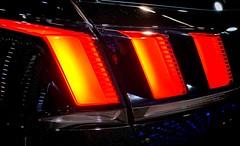 Peugeot 3008 - Feux arrires (Le Tonio) Tags: mondialdelauto feux car voiture cars salon 3008 peugeot
