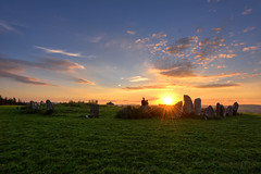 """Immortalised Ancestral Magic"" (Gareth Wray - 9 Million Views - Thank You) Tags: ancient pagan druid druids stone circle standing stones worship monument monuments raphoe county donegal ireland landscape tourist tourism site visit scenic landmark sun set sunset red blue sky summer country side countryside lens gareth wray photography strabane tyrone hd fox hdfox irish eire rock rocks granite field national trust colourful clear day horizon historic famous attraction cloudy photographer vacation europe neolithic outdoor grassland grass nikon d810 nikkor 1424mm celtic architecture plant"