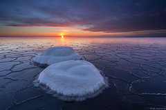 Rocks_ (JLindroos) Tags: winter snow ice skyfrozen rocks sunset sun colorful seascape horizon canon zeiss lee filters pori finland reposaari jlindroos