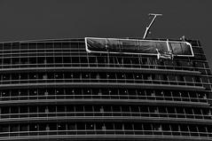 Workers at heights (Richard Mart1n) Tags: monochrome blackandwhite abstract art black white perth westernaustralia australia travel street streetphotography nikon d5000