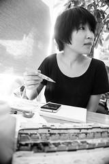 DSC01729 (dzintarix) Tags: shanghai drawing sketching lujiazui jinmao