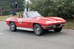 Chevrolet Corvette Sting Ray Cabriolet (1965) (PWeigand) Tags: 2015 bayern berchtesgaden chevroletcorvettestingraycabriolet1965 edelweissclassic oldtimer rosfeldrennen deutschland