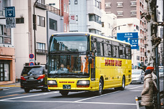 ISUZU GALA GHD_KL-LV774R2_Shinagawa230A364 (hans-johnson) Tags: isuzu gala isuzugala japan traverl coach         hd lv774 lv774r2 kllv774r2  hidecker vsco  tokyo  ghd grace  utsunomiya kanto transportation transport transit nihon nippon canon eos eos5d 5dm2 hato hatobus yellow 5d asia asakusa taito pan