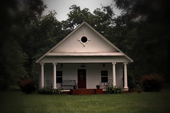 19th-Century Cottage (Mike McCall) Tags: 2016mikemccall pulaski county georgia usa photograph photo image picture 19th century nineteenth cottage house residence building structure hawkinsville