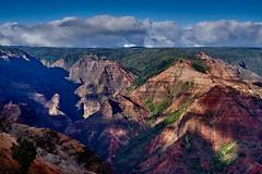 Waimea Canyon, Kauai (AgarwalArun) Tags: sonya7m2 sonyilce7m2 hawaii kauai island landscape scenic nature views mountain fog clouds storm waimeacanyon statepark grandcanyonofthepacific canyon valleys mountains waterfall trees cliffs peaks