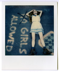 Girls Welcome (Asaf Sagi) Tags: instant polaroid abroad germany girl friends