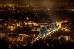 Dresden Stadtteil Loschwitz - Dresden district Loschwitz (ralfkai41) Tags: nacht night brcke blaueswunder dresden city cityscape loschwitz flus nachrfotografie hdr river elbe stadt bridge lichter nichtshot lights