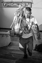 The Saint of Lost Causes, Mexico City (Geraint Rowland Photography) Tags: lostcauses saintoflostcauses mexicocity streetphotographymexicocity df mexico religion catholic catholicism sanjudas sanjudasteo portrait streetportraits candidphotography hildagometro blackandwhite