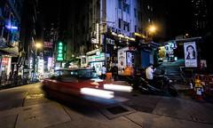 Hong Kong 03 (arsamie) Tags: hong kong china street night lights taxi red toyota trail life city people island central soho