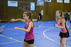 Bia 1512 Interclubs interne MsM 007.jpg (etienne.raeymaekers) Tags: msm 2015 interclubs badminton interne lauragallet marinejacquet charleroi wallonie belgique be