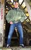 self3121 (Tommy Berlin) Tags: men jeans levis bomberjacke alphajacke