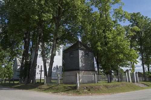 Pildas Romas katoļu baznīca un zvanu tornis, 04.06.2016.