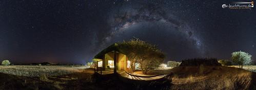 360 degree starry sky