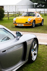 Two of Porsche's many masterpieces! (Aimery Dutheil photography) Tags: porsche porsche911 911 911carrerars 27rs rs rennsport porschecarreragt carrera gt carreragt flatsix v10 german goodwood festivalodspeed fos 2016 london supercar classiccar manual combo exotic fast speed amazing canon 70d