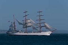 Iconic (Luis-Gaspar-less-active) Tags: barco boat nrpsagresiii navioescolasagres navy portuguesenavy marinha marinhaportuguesa portugal oeiras tejo riotejo tagus tagusriver nikon d60 55300 f8 1640 iso100