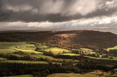 Passing Light (Glenn D Reay) Tags: roseberrytopping hills captaincooksmonument landscape light sun wind rain clouds stormy hiking cleveland pentaxart pentax k30 sigma1770hsm polariser glennreay