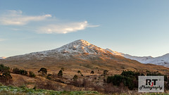 Last Light (RabbieJT) Tags: scottish mountains munro sunset snow dusted dust last light loch lomond