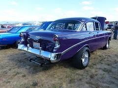 56CRUZR StreetRod (bballchico) Tags: 1956 chevrolet dragcar racecar 56cruzr streetrod arlingtoncarshow carshow 1960s 206 washingtonstate arlingtonwashington
