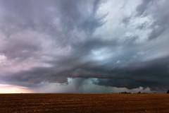 Felt Tornado (Mike Olbinski Photography) Tags: 20160516 canon5dmarkiii canon1635mm28l clouds cornfields farms felt hail oklahoma rain stormchasing supercells thunderstorm tornado
