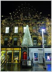 Buchanan Street Glasgow (Ben.Allison36) Tags: buchanan street glasgow night shot scotland christmas lights shops hand held