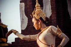 Thailand (Cyrielle Beaubois) Tags: 2015 canoneos5dmarkii cyriellebeaubois thailand thai asia southeast travel sukhothai portrait asian people festival loy krathong thalande