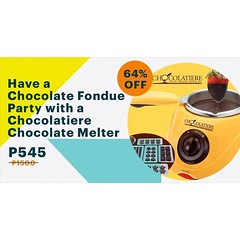 www.supremedeals.com This #Christmas, get yourself a Chocolatier #Chocolate Melter discounted today at #SupremeDeals! #sweettooth #chocolatelove #foodie #foodporn (supremedeals_ph) Tags: deals ph metro deal discounts travel beauty shopping gadget technology daily hotel restaurants