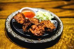 Chicken Karaage (Daniel Y. Go) Tags: fuji fujixpro2 xpro2 philippines food chickenkaraage japanesefood santouka