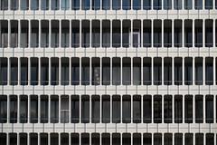 Meguro ward office building (kasa51) Tags: building window balcony megurowardoffice tokyo japan 目黒区役所庁舎 村野藤吾 nikkorsauto50mmf14 旧千代田生命保険本社ビル