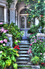 IMG_2419_20_21_tm_a_800 (band68uk) Tags: eastbourne doorway flowers hdr canon eos 5dmark2