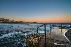 Bronte Pool (silardtoth) Tags: water australia bondi sydney beach beachscape blue bronte coast coogee houses landscape nature new south wales nsw ocean rocks rough sea seascape stairs summer sunset tamarama travel vacation pool rock