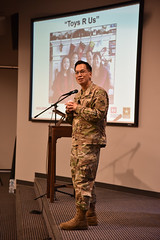Toy addresses Nashville District employees (NashvilleCorps) Tags: usace us army corps engineers nashville district greatlakesandohioriverdivision great lakes ohio river brig gen mark toy division commander employees kentucky lock dam cumberland basin