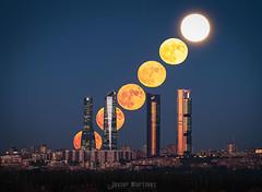 Superluna Noviembre 2016 (Javier Martnez Morn) Tags: superluna madrid supermoon cuatrotorres sonyalpha sonya7sii astrophotography astronomia sony stack apilado