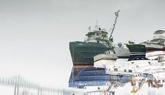 JM Powell (PAJ880) Tags: jm powell work boat laid up reflected boats craft bridge east boston ma harborside harbor