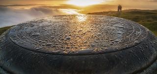 Sunrise from the East Lomond