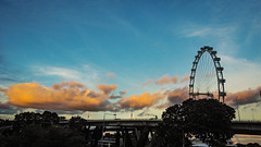 Cloudscape (elenaleong) Tags: cloudscape clouds singaporeflyer elenaleong sundown