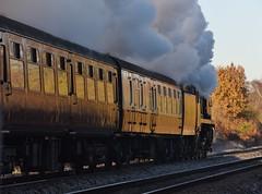 Blackwater 29 November 2016 039 (paul_appleyard) Tags: frosty morning 34052 lord dowding steam dreams cathedrals express blackwater hampshire november 2016 full ahead locomotive