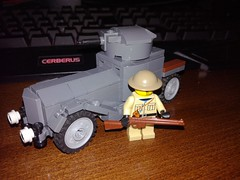 Lego Rolls-Royce Armored car (LOGICALbrick) Tags: lego rolls royce armoured car wwi world war i