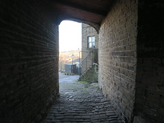 My favourite ginnel (waldopepper) Tags: haworth
