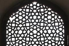 DSC5575 Mausoleo de Humayun (ventana de la sala del cenotafio del emperador), año 1565-72, Delhi (Ramón Muñoz - ARTE) Tags: delhi india mausoleo tumba de humayun