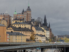 Centralbron & Mariaberget, Södermalm, Stockholm (PriscillaBurcher) Tags: centralbron mariaberget södermalm stockholm bridge bridgesoverstockholm sweden l1020962