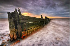 What happens when loneliness becomes normality....? (spideysenses77) Tags: uk britain europe england stunning wild nature love sexy beauty textures wooden wood fence coastal defence groyne sunrise sunset sun cloudporn clouds cloud skyporn skyscape sky weather storm calm waves wave coast seaside sea beachlife beaches beach filter stopper shutter exposure longexposure tamron 1100d canon