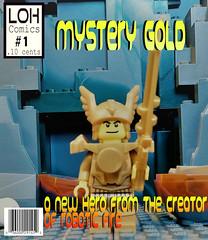 Mystery Gold - Issue #1 (jgg3210) Tags: lego leagueofheroes loh mystery gold moc minifigure miner mine ore rock burp superhero comic comicbook