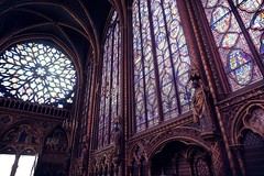 Sainte-Chapelle (e.crepaldi) Tags: summer paris france church interior vivid