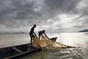 Morning Fishing (Irene Becker) Tags: africa morning niger sunrise fishing fisherman village westafrica nigeria blackafrica arewa northernnigeria nigerianimages nigerianphotos imagesofnigeria northnigeria